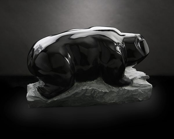 Growler - Realistic Stone Sculpture